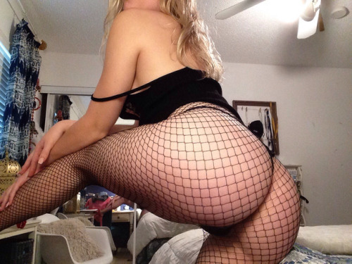 fucking, ass Teen with Big Butt and Mesh Clothes
