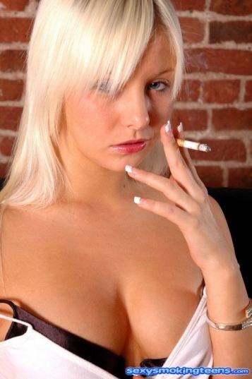 yespornplease, pov-life Sexy Blonde Smoking Pole