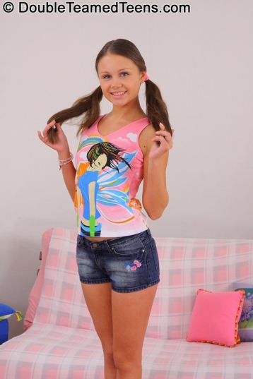 tube8, brunette Brunette Teen Pigtails Facial