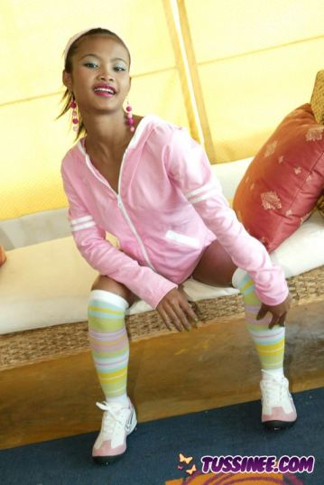 Cute Teen Strips Off Clothes