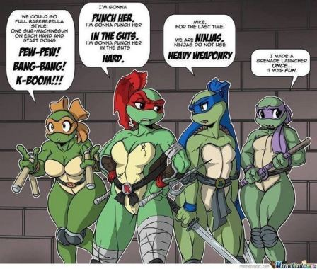 tube8 Female Teenage Mutant Ninja Turtle Quotes