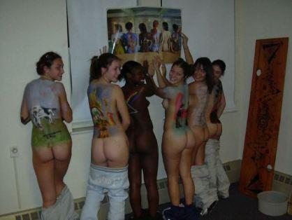 tube8 Many Hot Naked Teens Body Painted