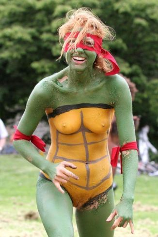 Nude Teenage Mutant Ninja Turtles Costumes