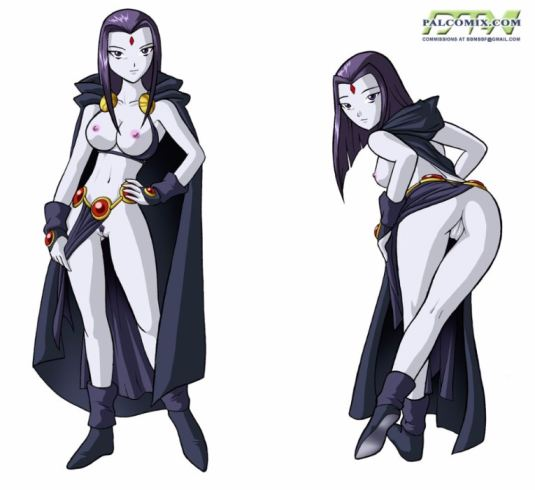 tube8 Raven From Teen Titans Cosplay