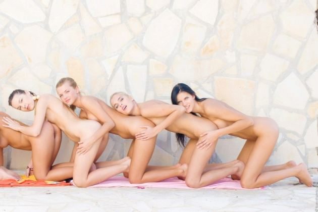 tube8, blonde Blonde Teen And Friends
