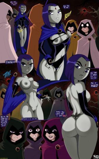 Shadbase Teen Titans Raven