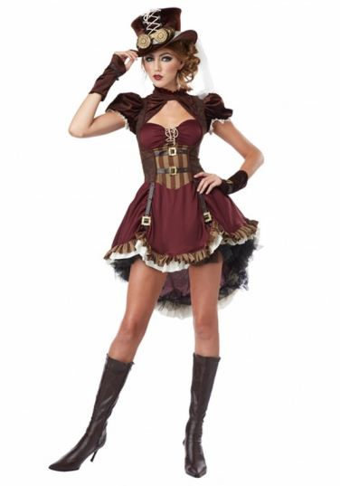 Steampunk Halloween Costumes For Teenage Girls