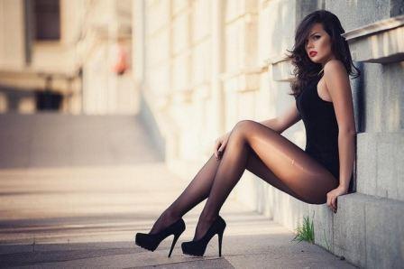 tube8, brunette Teen Brunette Sexy Stockings Heels