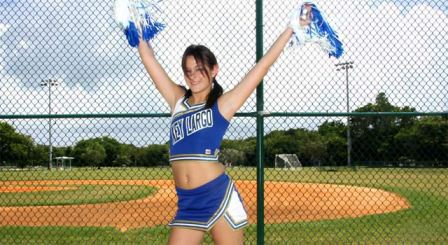 tube8 Teen Cheerleader Tight Skirt