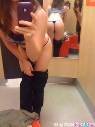 Teen Dressing Room Mirror Self
