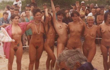 Teen Friends At Beach