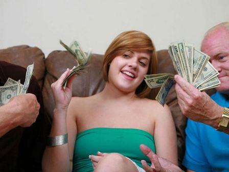 Teen Girl Will Do Anything For Cash