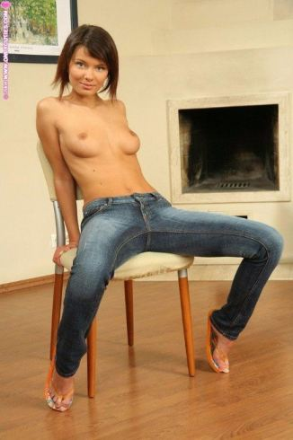tube8 Candid Teen Skinny Jeans
