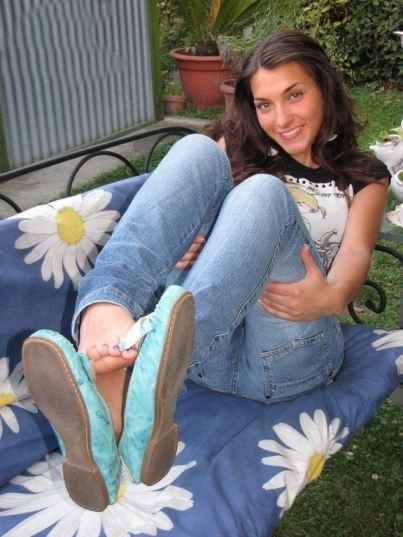 tube8 Teen Nylon Feet