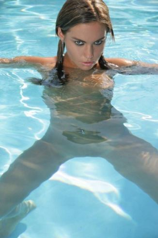 tits, fucking Naked Teen In The Swimming Pool