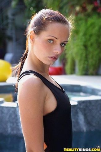 Young Teen Girl Swimsuit
