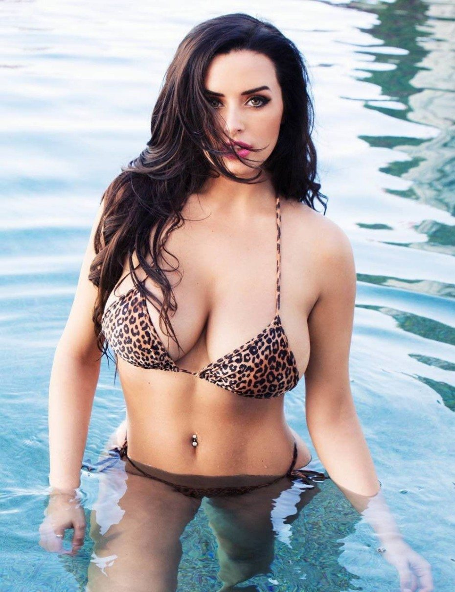 tube8 Abigail Ratchford Posing Naked Topless