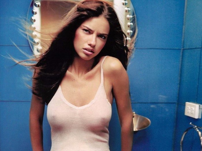 tube8 Adriana Lima Nude Topless