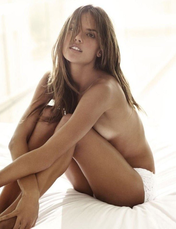 tube8 Alessandra Ambrosio Nude Topless In Short Pants