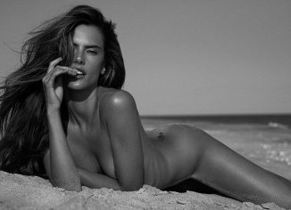 tube8 Alessandra Ambrosio Posing Completely Nude Topless On The Beach