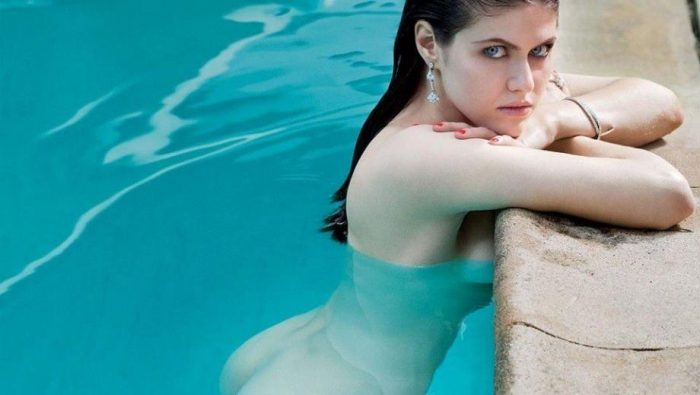 tube8 Alexandra Daddario Nude Sexy Images