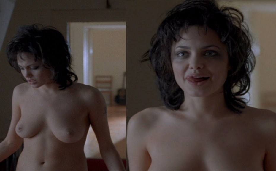 Angelina Jolie Naked Topless Boobs Sex