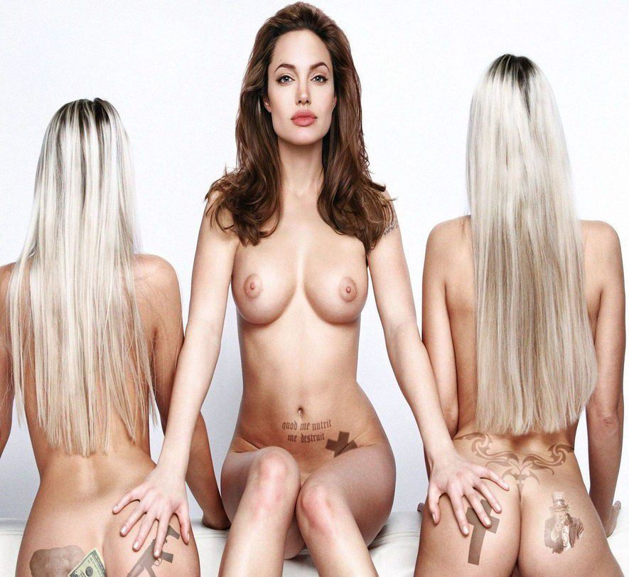 Angelina Jolie Nude Naked Pussy Porn Xxx Sex Photo