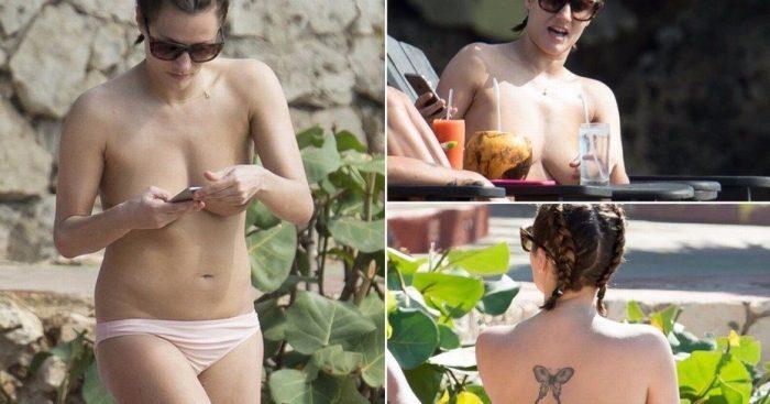tube8 Caroline Flack Naked Topless On Beach