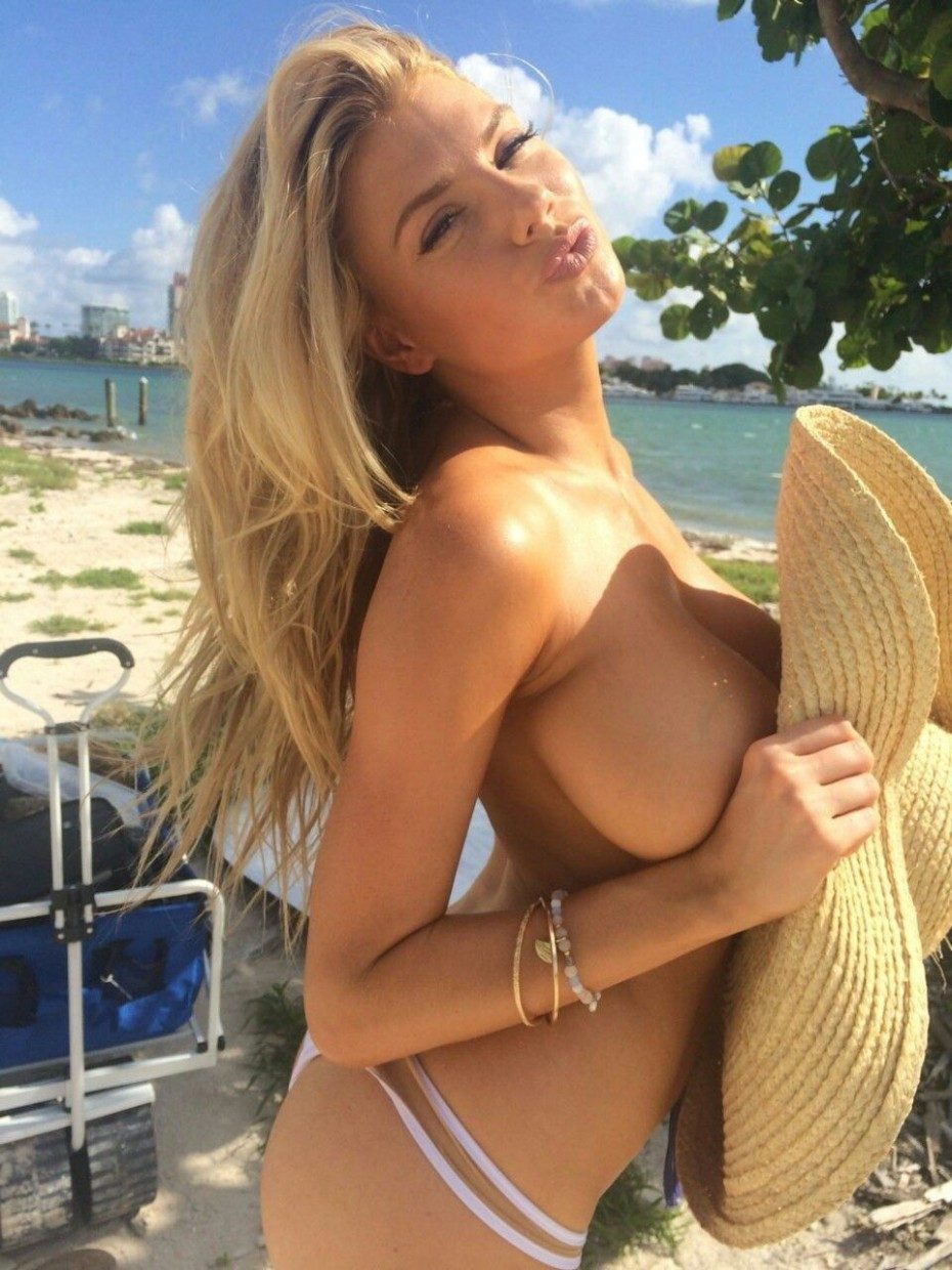 tube8 Charlotte McKinney Topless And See Thru Photos