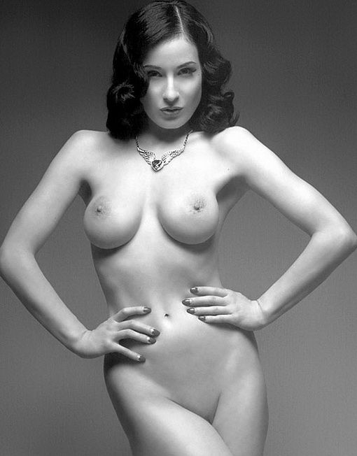 tube8 Dita Von Teese Nude Topless Big Boobs Photos