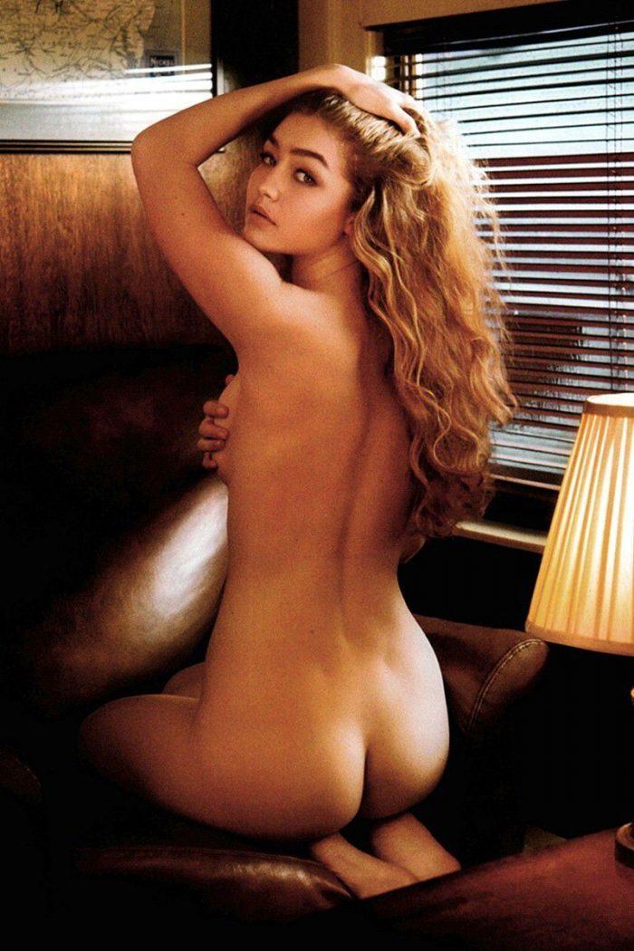 tube8 Gigi Hadid Covered Nude For V Magazine