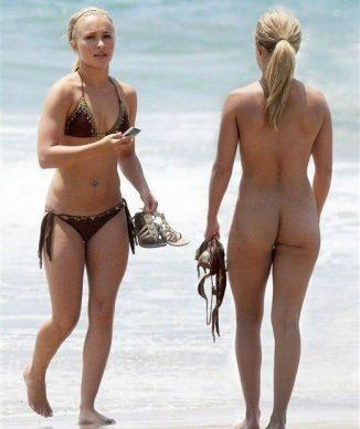 tube8 Hayden Panettiere Nude On Beach Strip