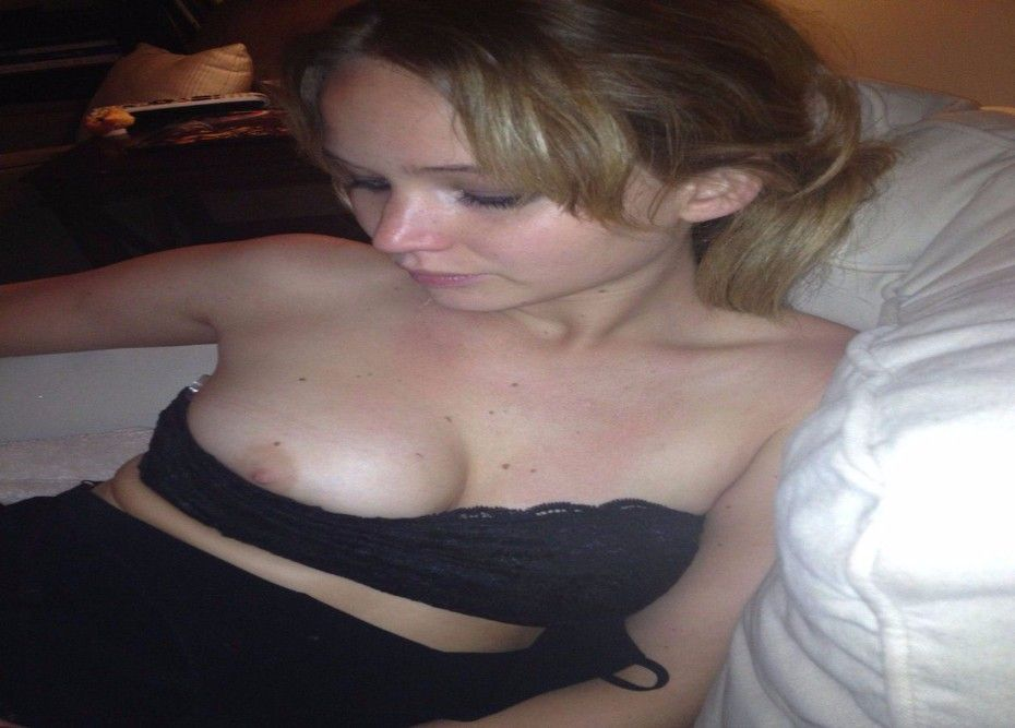 tube8, selfie Jennifer Lawrence Naked Selfie Side Boob