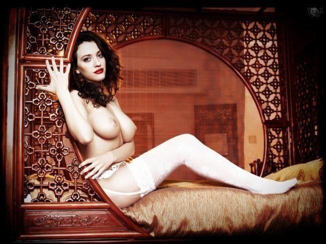 tube8 Kat Dennings Nude Topless