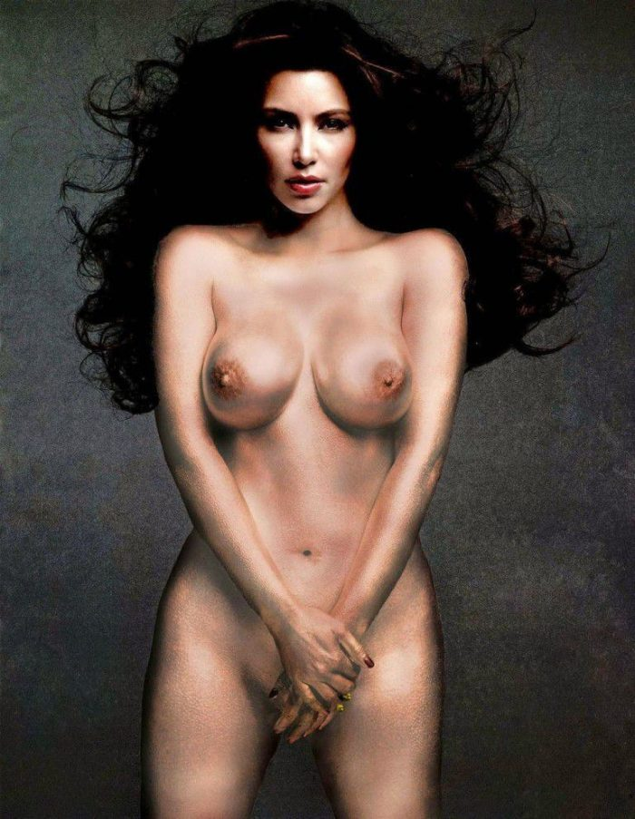 tube8 Kim Kardashian Nude Big Areolas