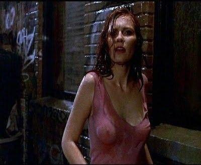Kirsten Dunst Boobs See Through Wet Dress