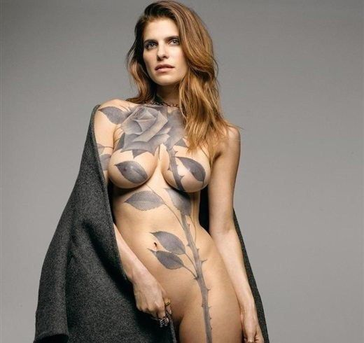 Lake Bell Naked Topless