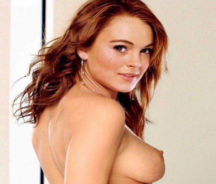 tube8 Lindsay Lohan Busty Sexy Nude Boobs