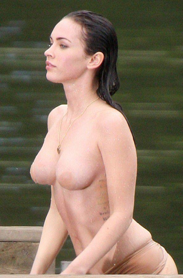 Megan Fox Nude Tits Hot Body
