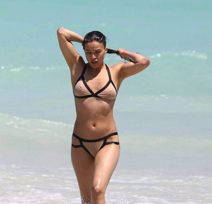 tube8 Michelle Rodriguez Nude Tits Sexy Bikini