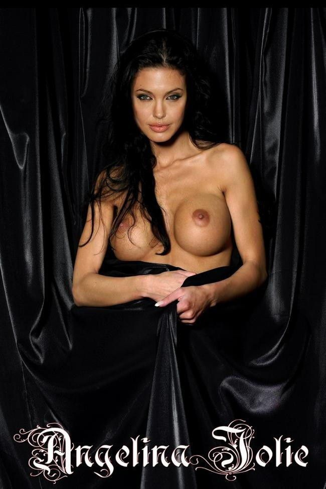 Naked Celebrities Angelina Jolie