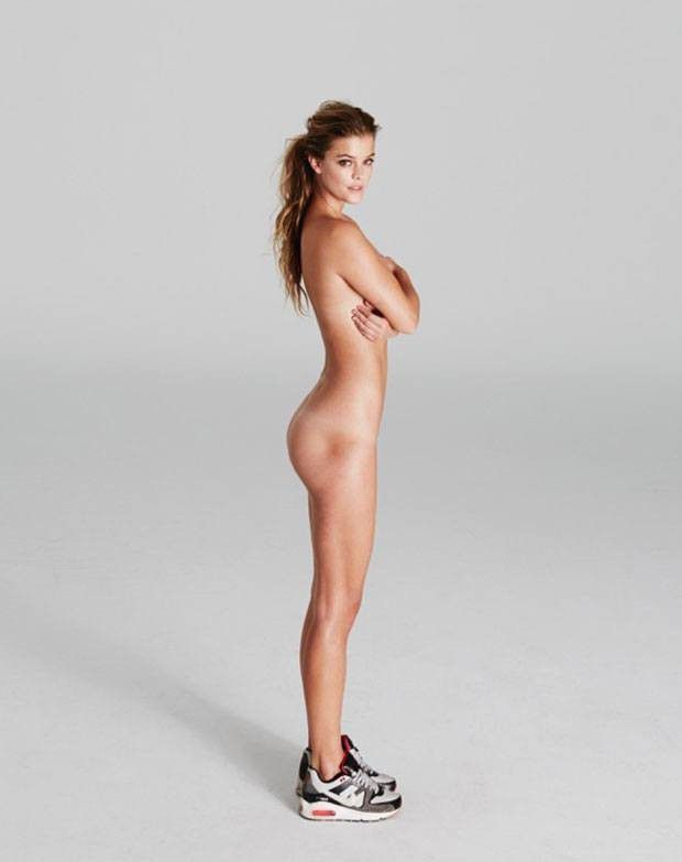 Nina Agdal Naked Ass Posing