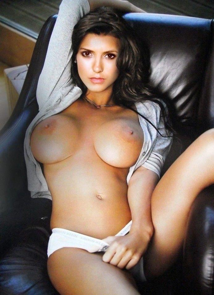 tube8 Nina Dobrev Big Boobs Nip Slip