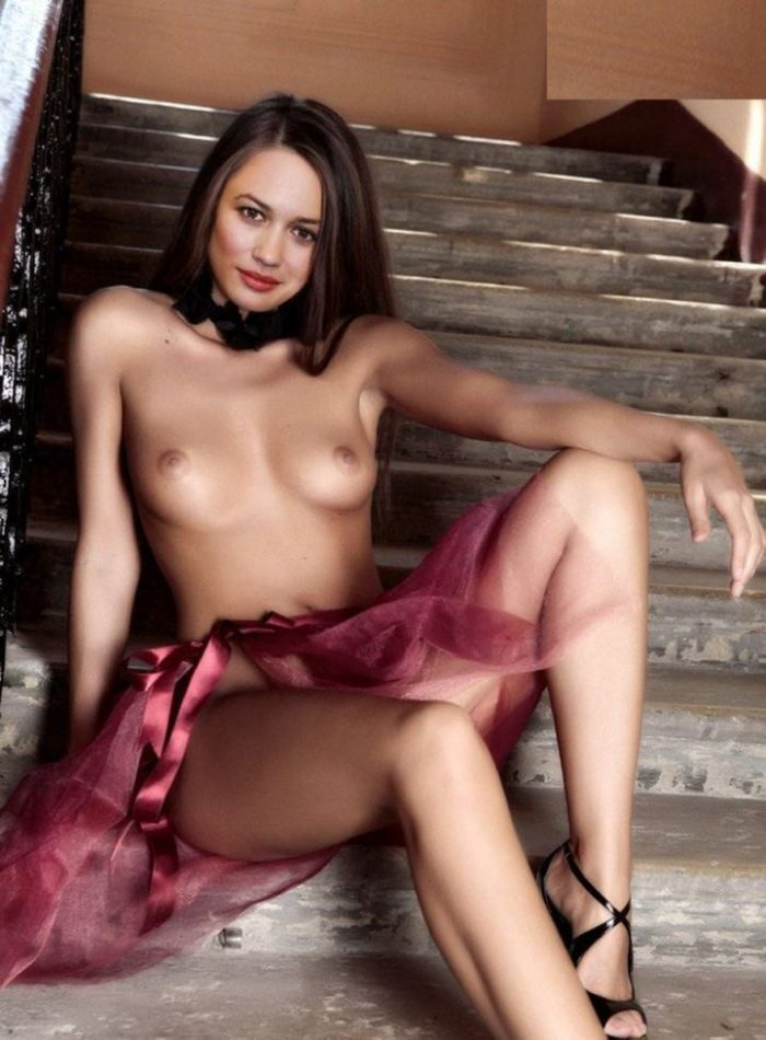 tube8 Olga Kurylenko Actress Naked Nude Sex XXX Boobs Pics