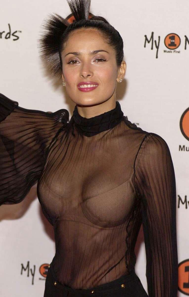 tube8 Salma Hayek Nude Topless Sexy Tits Leaked Photo