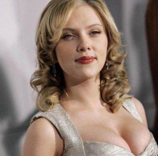 tube8 Scarlett Johansson Beautiful Actress Big Boobs In Dress
