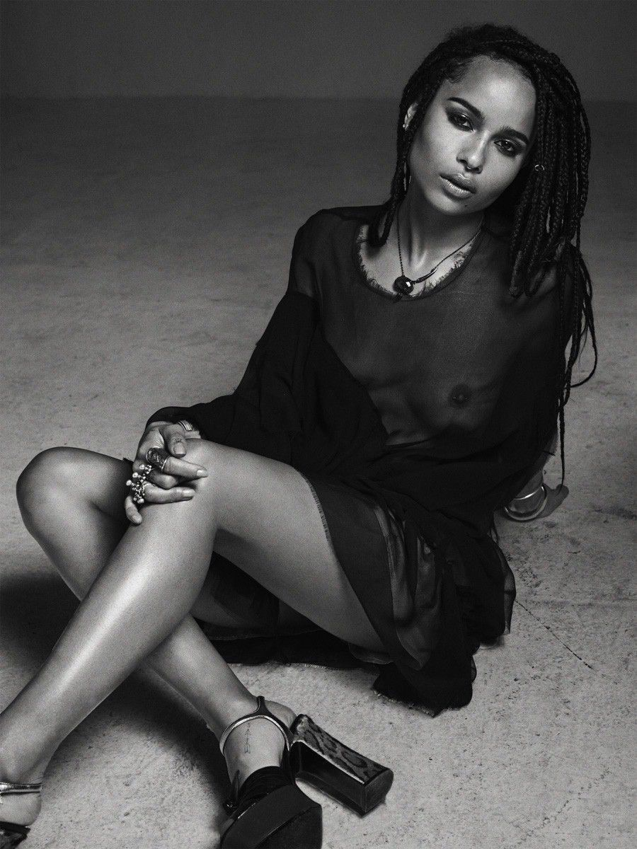 tube8 Zoe Kravitz Naked Showing Sexy Topless