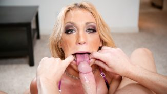 throated, hotmovs Amy Brooke Loves To Suck Dick