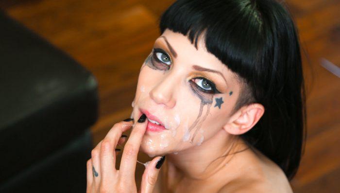 hd21, 1000facials Asphyxia Noir - Facial