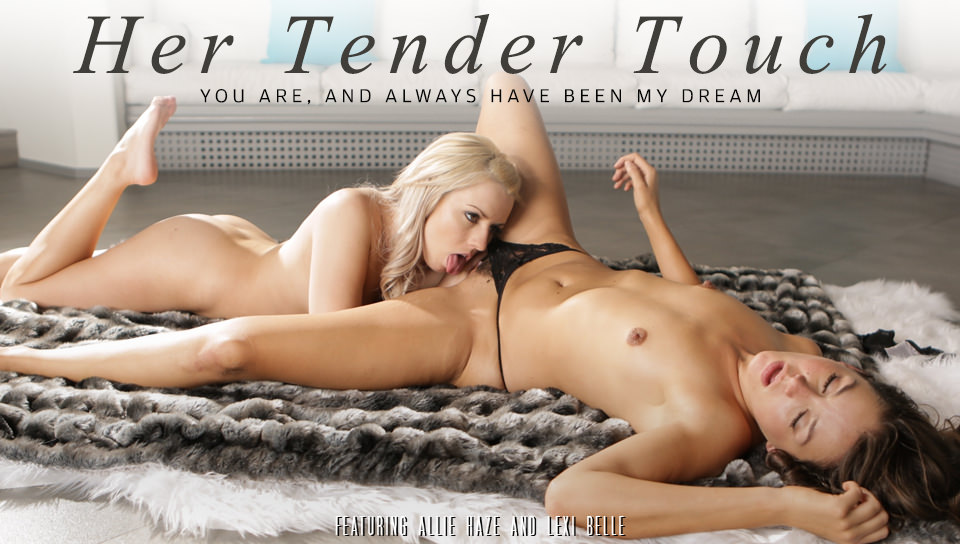Lexi Belle & Allie Haze Her Tender Touch